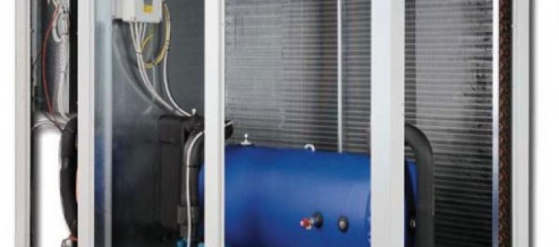 Climatización industrial mediante enfriadoras de agua